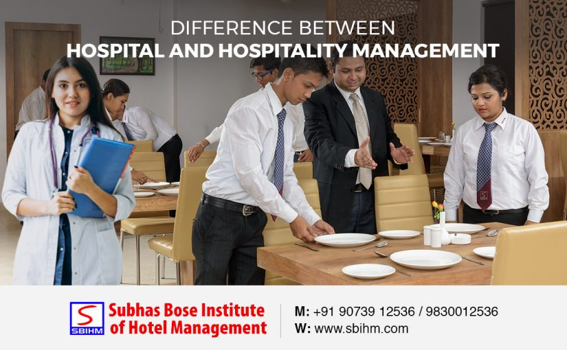 Difference Between Hospital and Hospitality Management